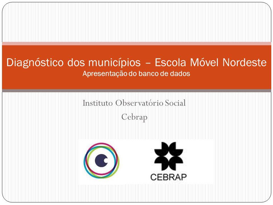 Instituto Observatório Social Cebrap