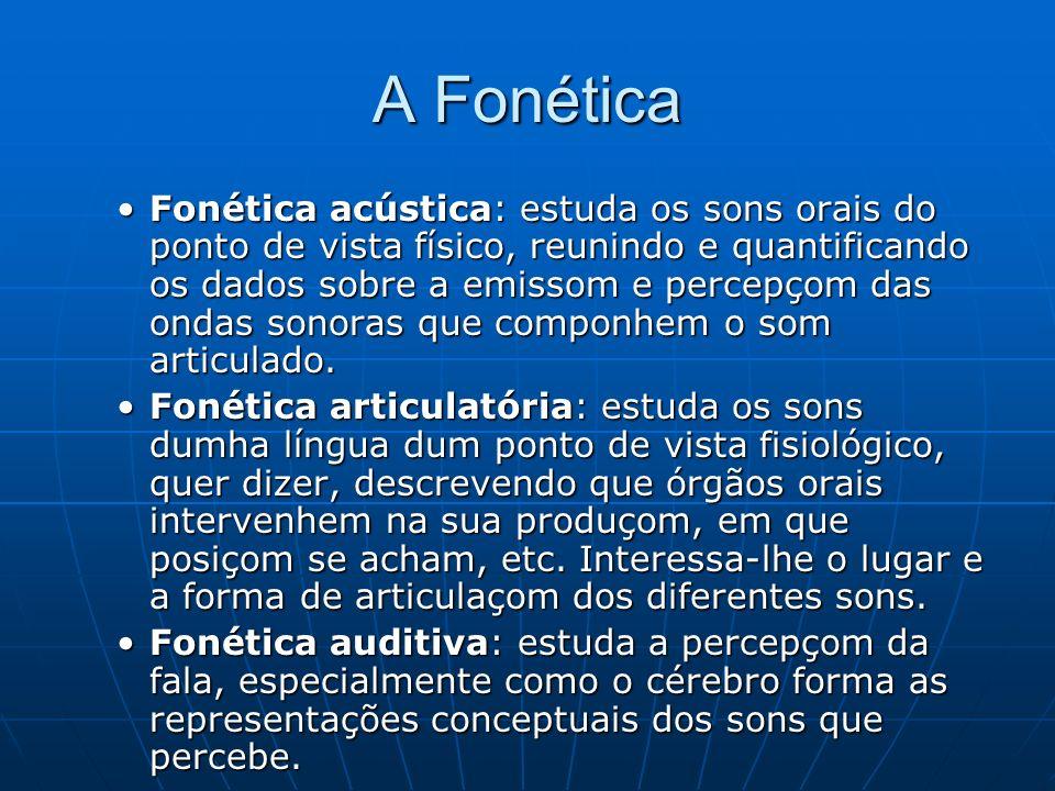 A Fonética