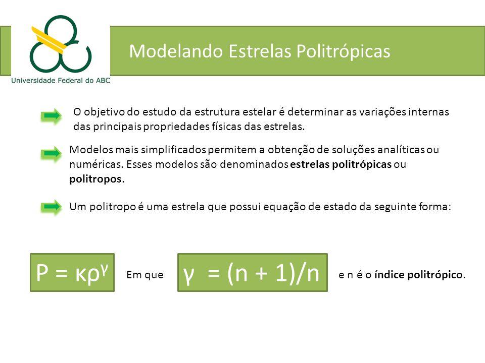 Modelando Estrelas Politrópicas