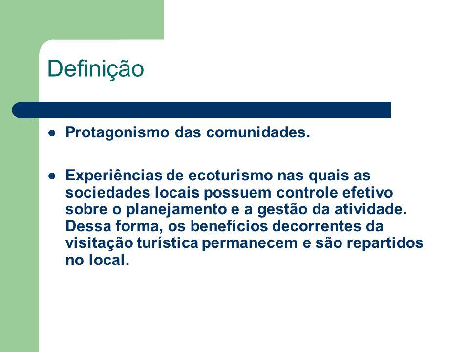 Definição Protagonismo das comunidades.