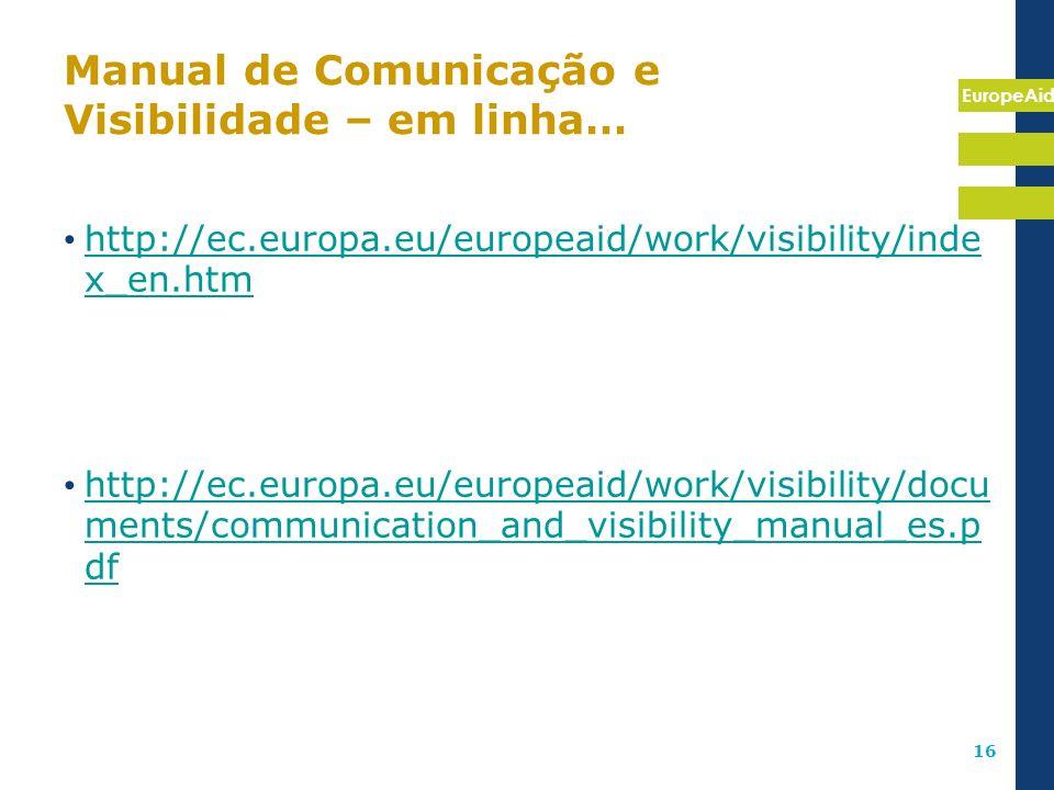 Manual de Comunicação e Visibilidade – em linha…