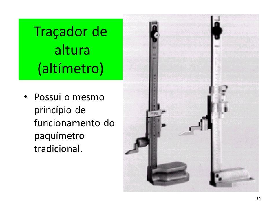 Traçador de altura (altímetro)