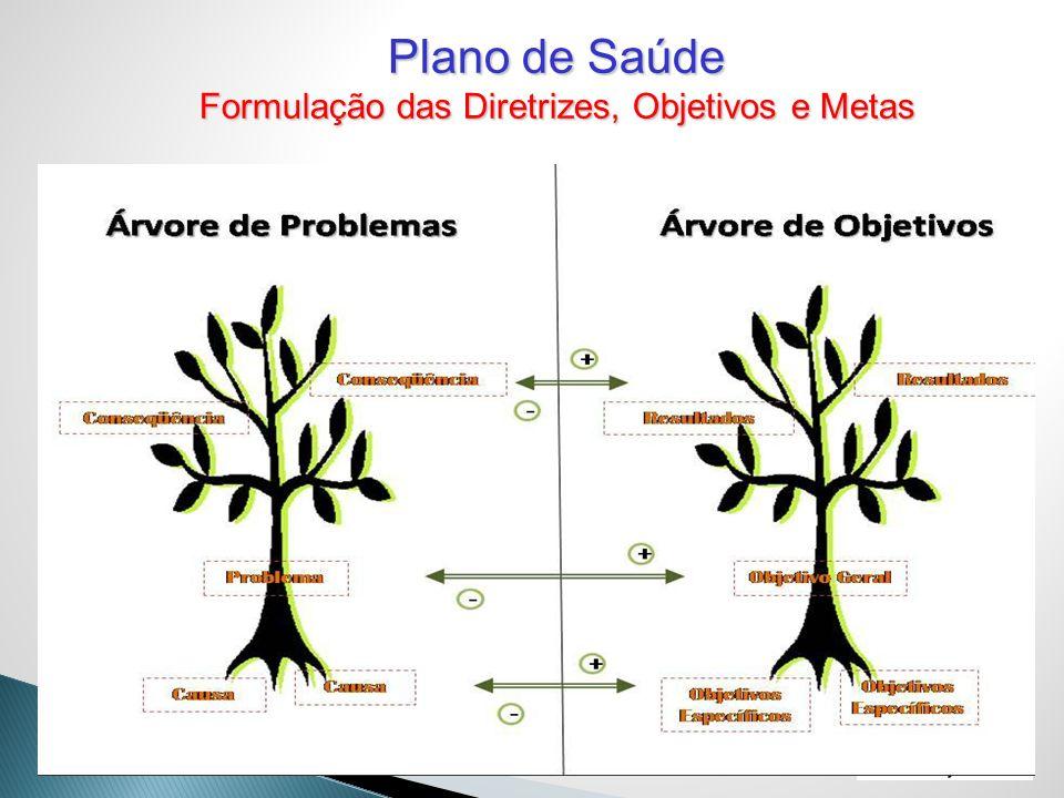 Formulação das Diretrizes, Objetivos e Metas