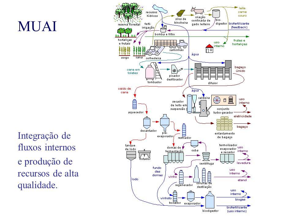 MUAI Integração de fluxos internos