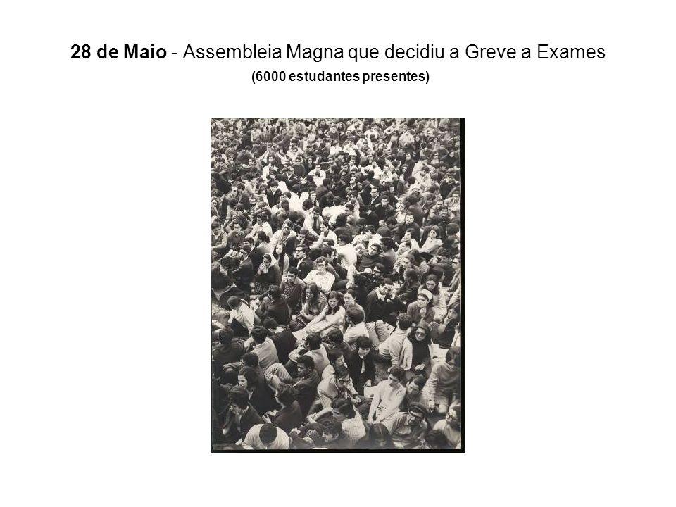 28 de Maio - Assembleia Magna que decidiu a Greve a Exames (6000 estudantes presentes)