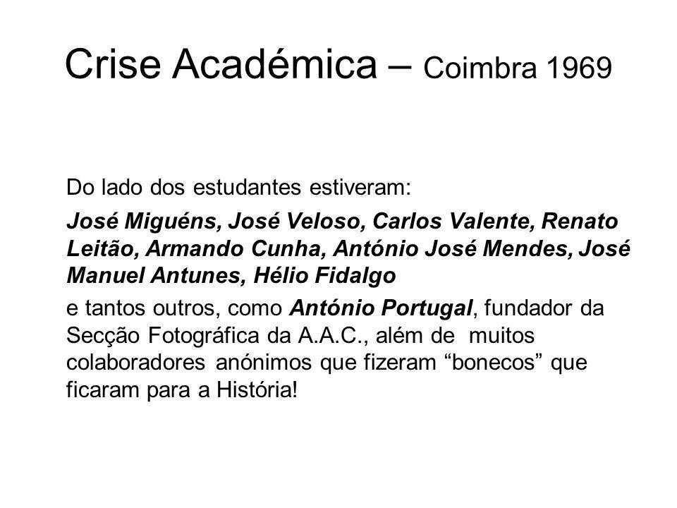 Crise Académica – Coimbra 1969