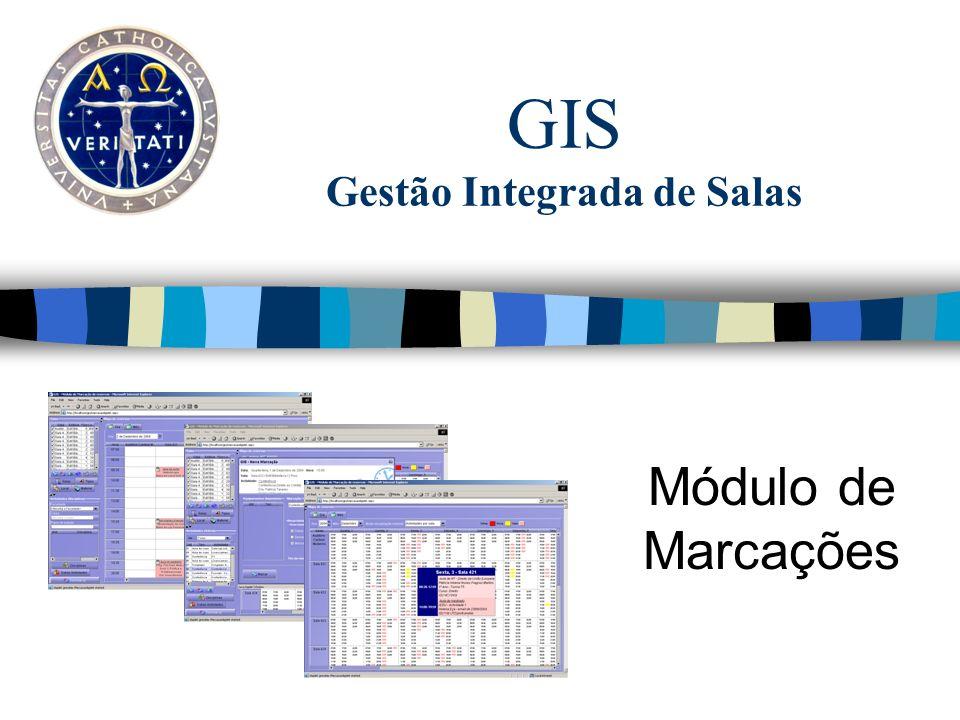 GIS Gestão Integrada de Salas