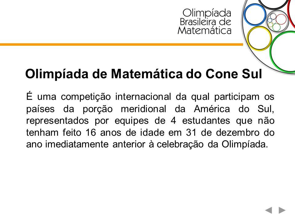 Olimpíada de Matemática do Cone Sul