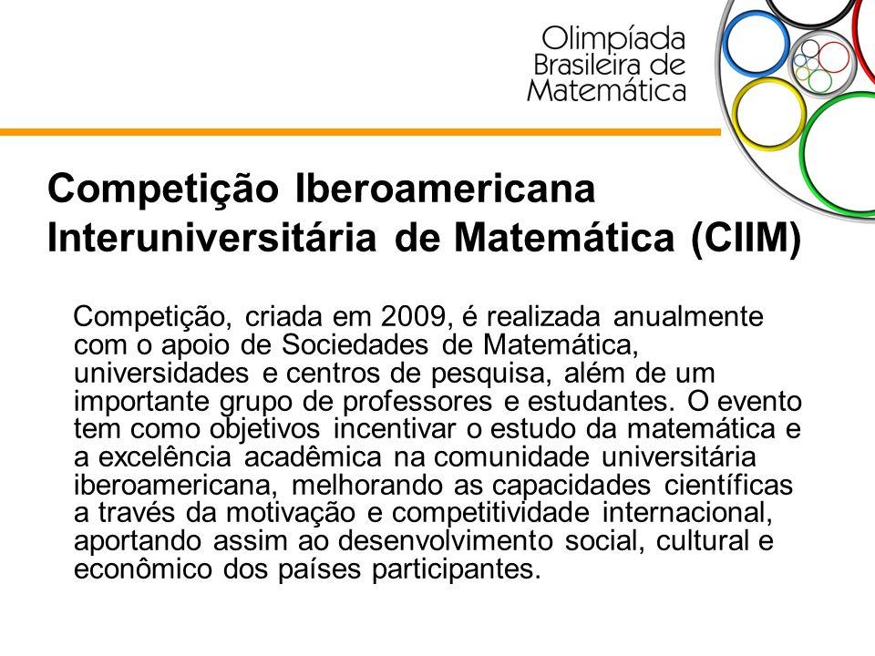 Competição Iberoamericana Interuniversitária de Matemática (CIIM)