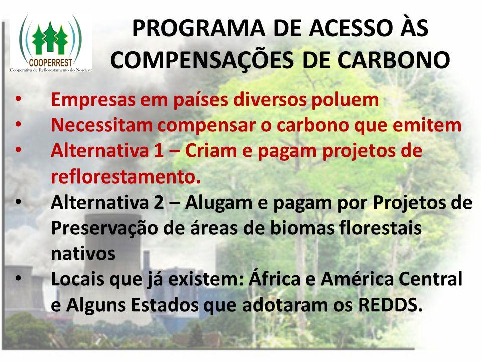 PROGRAMA DE ACESSO ÀS COMPENSAÇÕES DE CARBONO