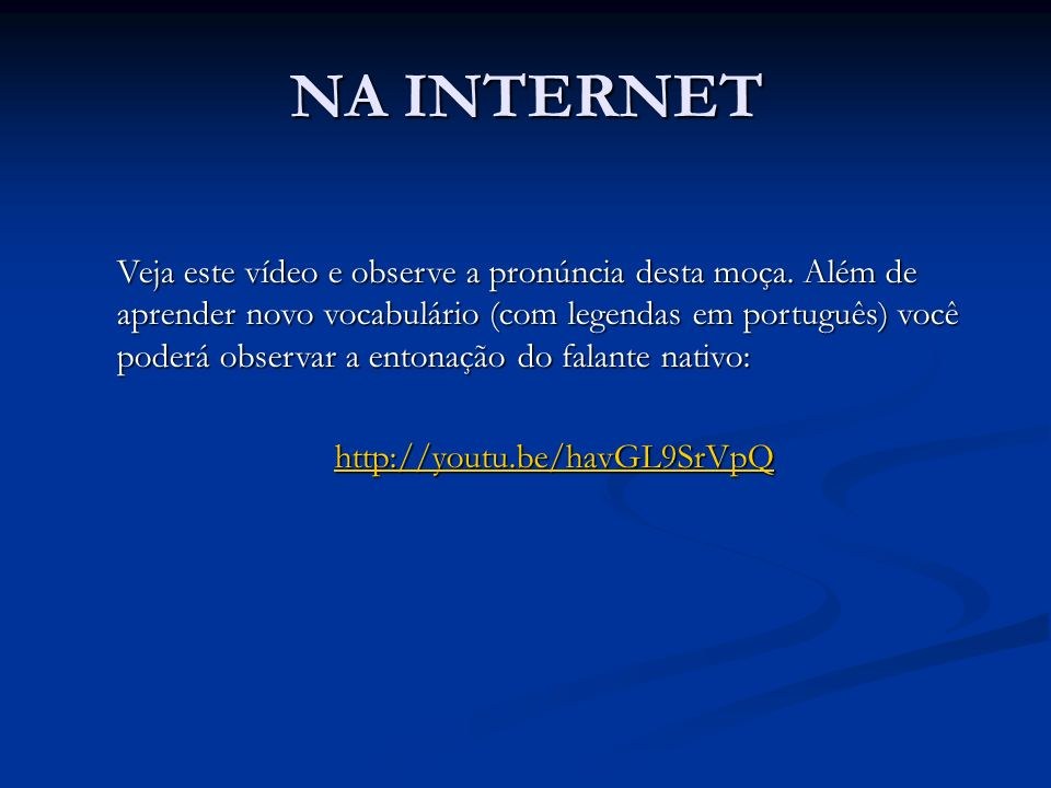 NA INTERNET