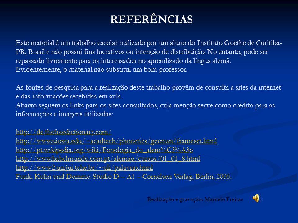 Realização e gravação: Marcelo Freitas