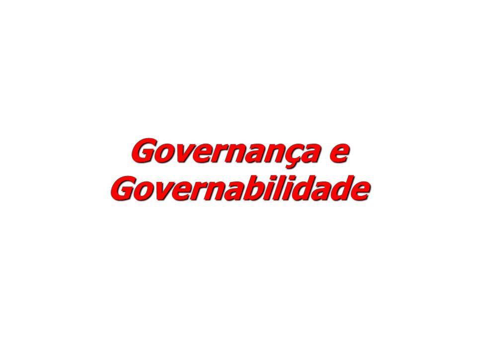 Governança e Governabilidade