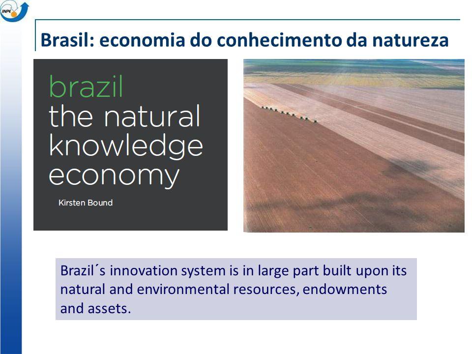 Brasil: economia do conhecimento da natureza