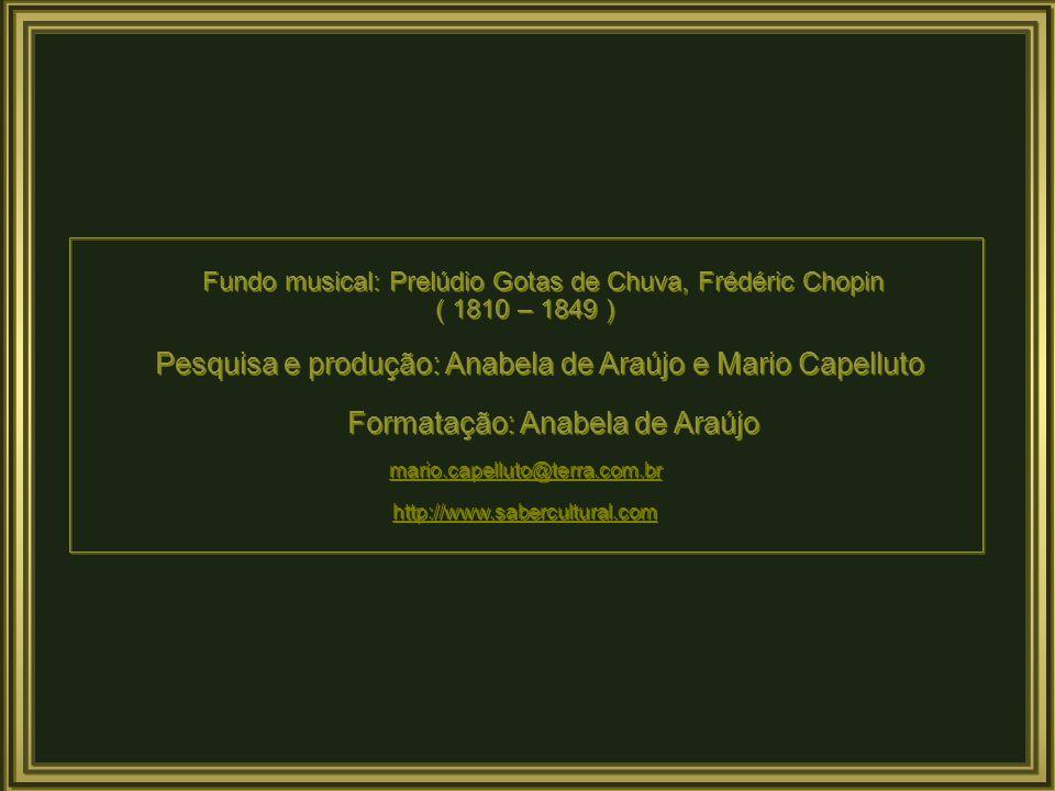 Formatação: Anabela de Araújo