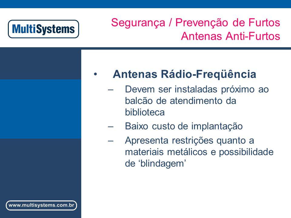 Segurança / Prevenção de Furtos Antenas Anti-Furtos
