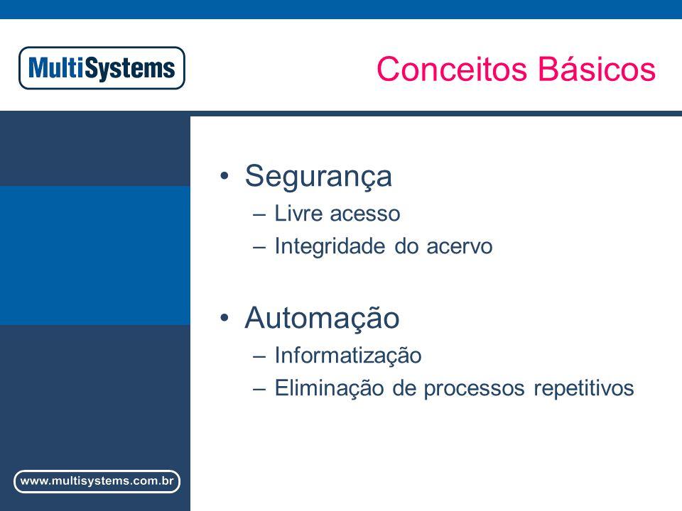 Conceitos Básicos Segurança Automação Livre acesso