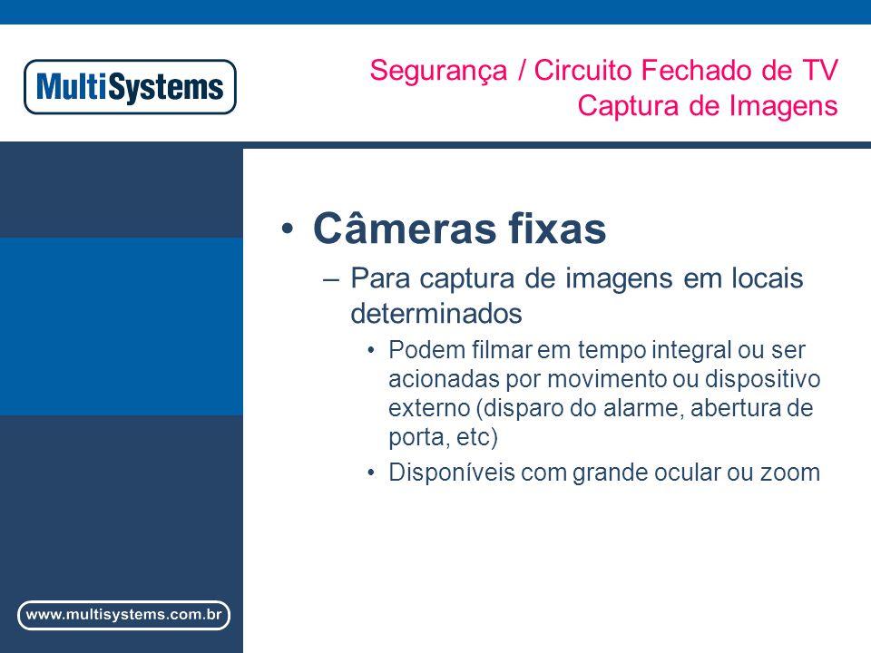 Segurança / Circuito Fechado de TV Captura de Imagens