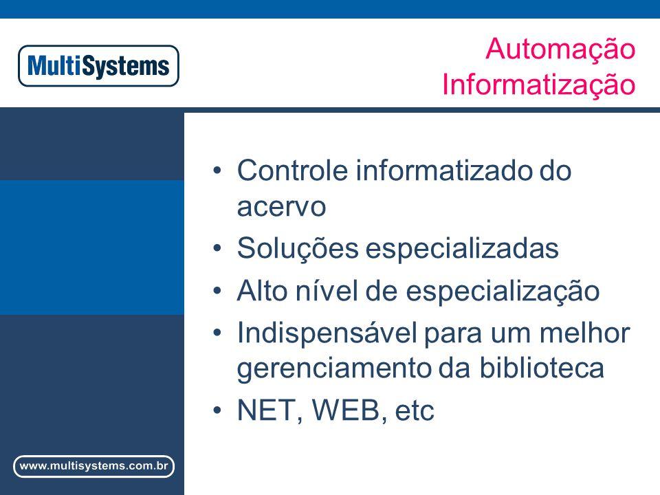 Automação Informatização