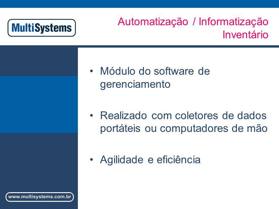 Automatização / Informatização Inventário