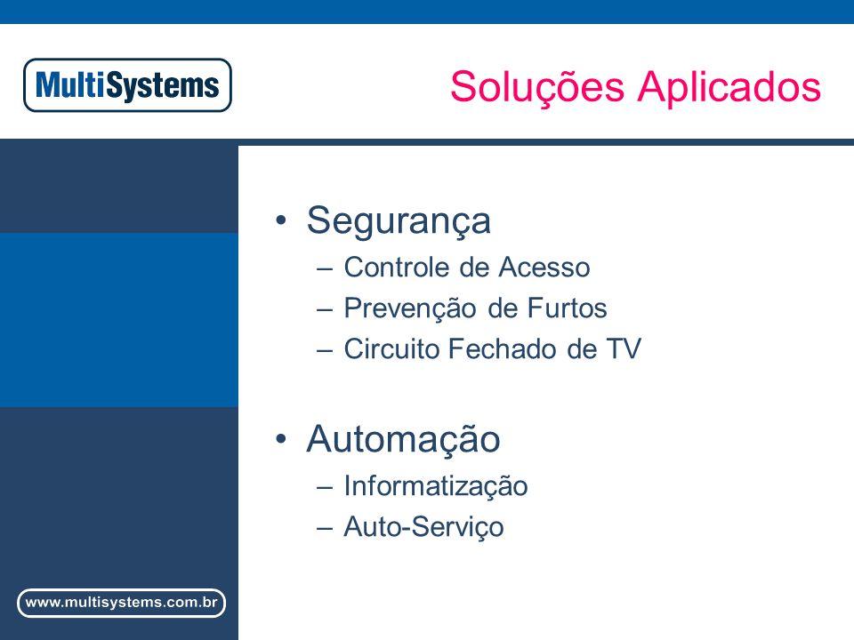 Soluções Aplicados Segurança Automação Controle de Acesso