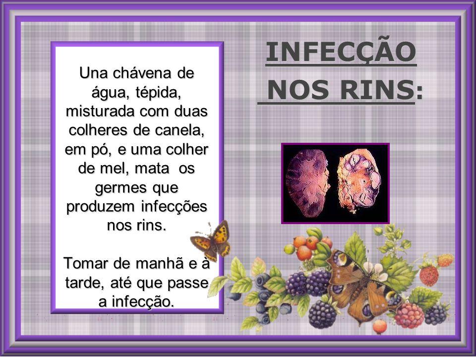 INFECÇÃO NOS RINS: