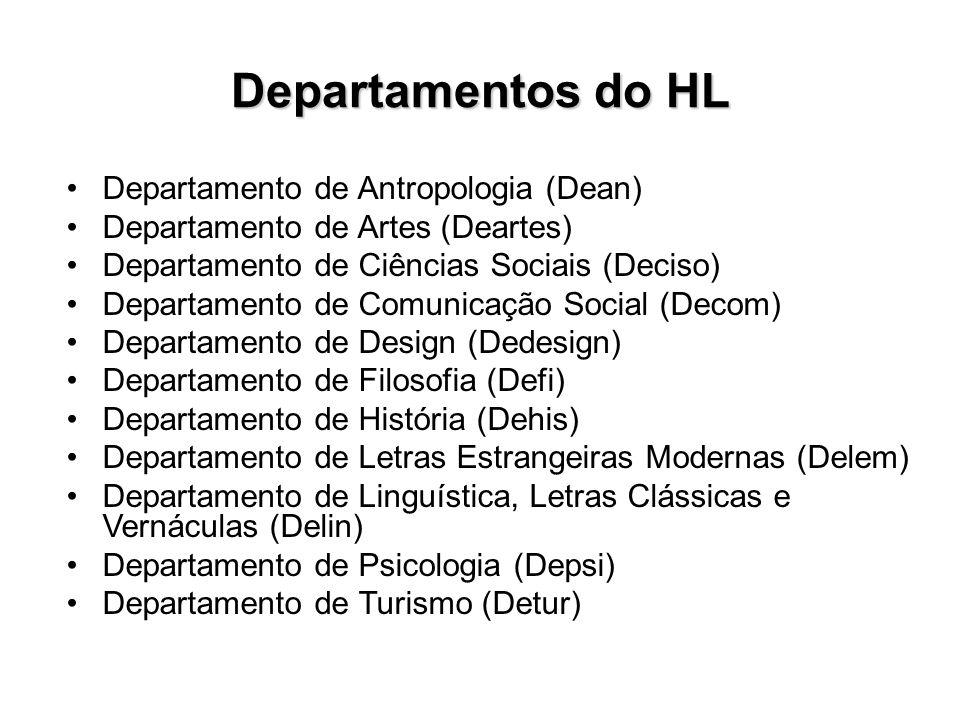 Departamentos do HL Departamento de Antropologia (Dean)