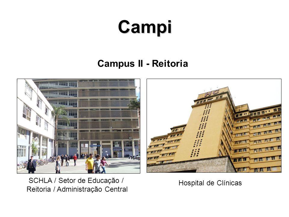 Campi Campus II - Reitoria SCHLA / Setor de Educação /
