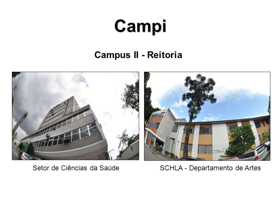Campi Campus II - Reitoria Setor de Ciências da Saúde