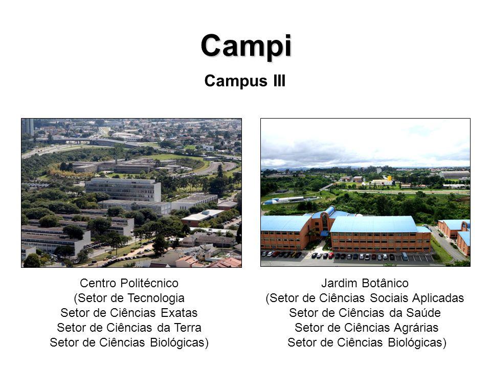 Campi Campus III Centro Politécnico (Setor de Tecnologia