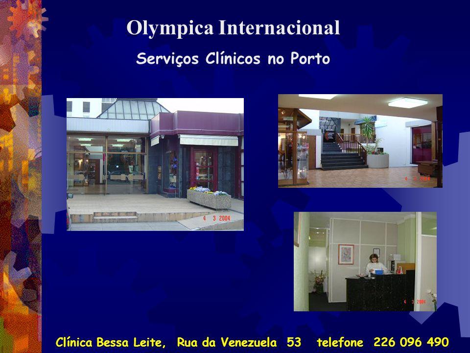 Olympica Internacional Serviços Clínicos no Porto