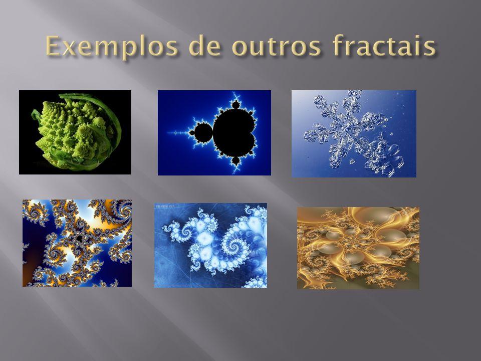 Exemplos de outros fractais