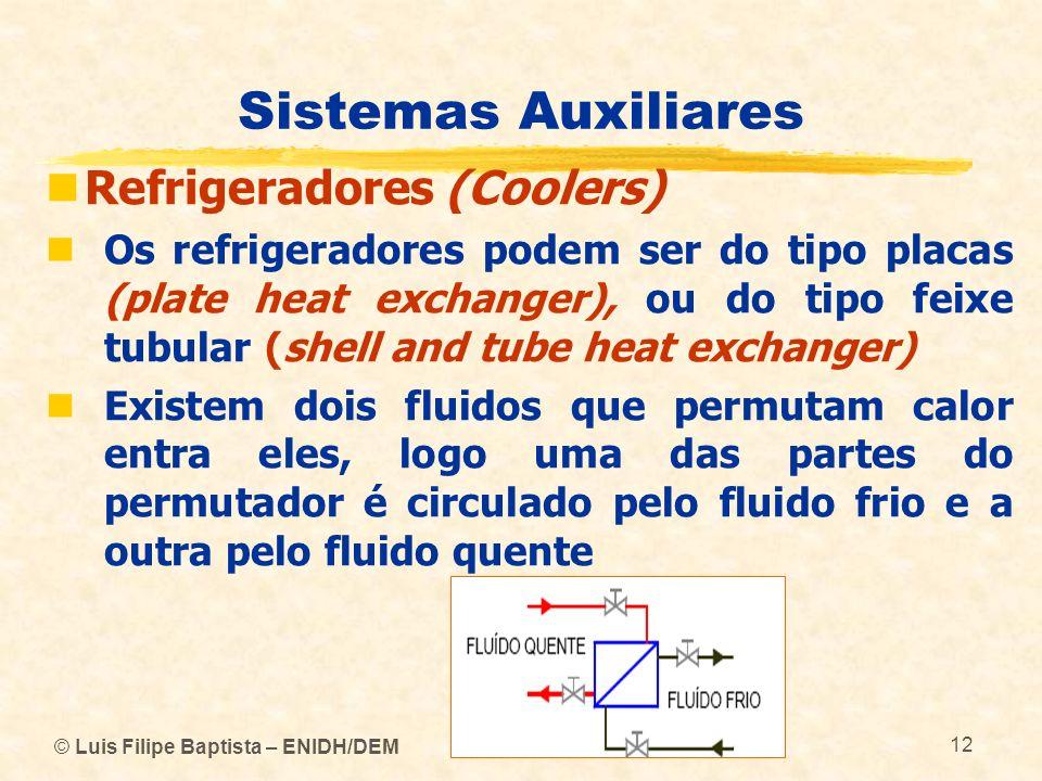 Sistemas Auxiliares Refrigeradores (Coolers)