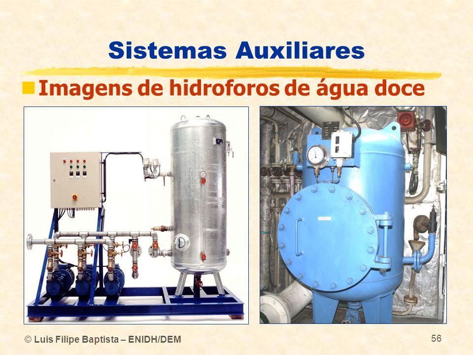 Sistemas Auxiliares Imagens de hidroforos de água doce