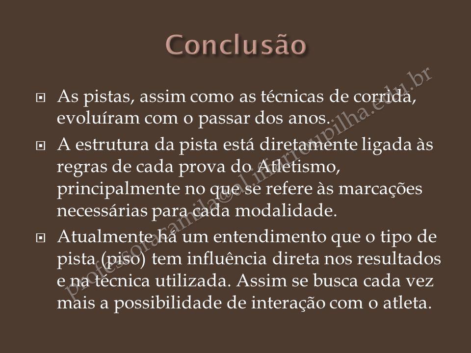 Conclusão professoracamila@al.iffarroupilha.edu.br