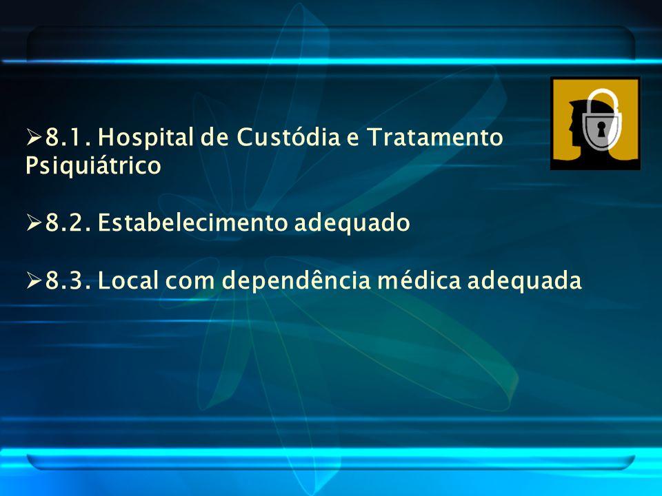 8.1. Hospital de Custódia e Tratamento Psiquiátrico