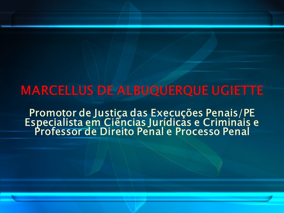 MARCELLUS DE ALBUQUERQUE UGIETTE
