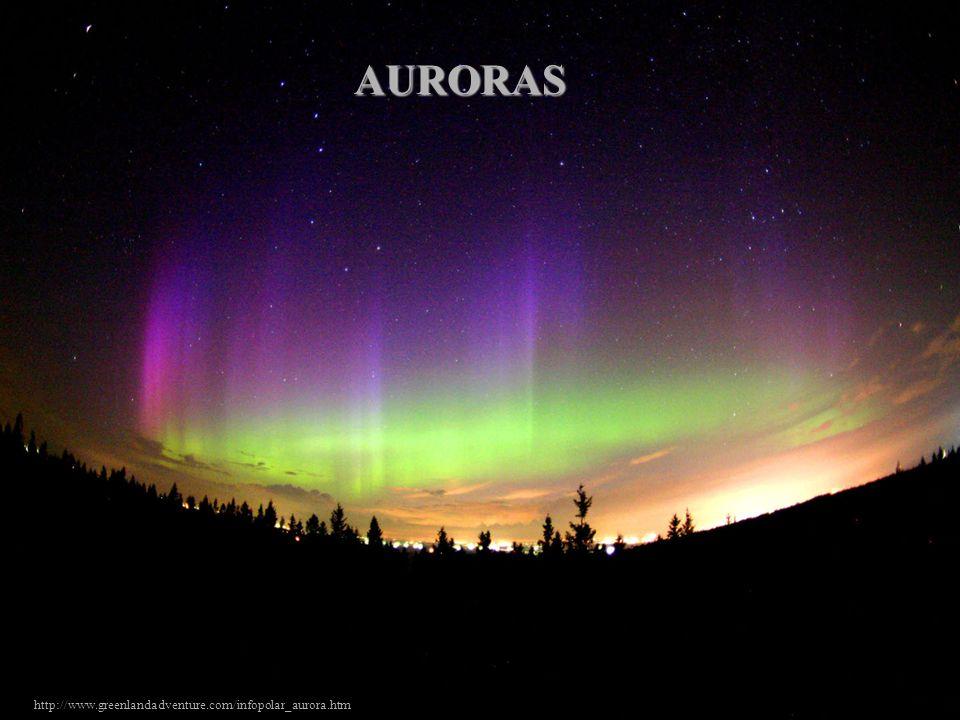 AURORAS auroras http://www.greenlandadventure.com/infopolar_aurora.htm