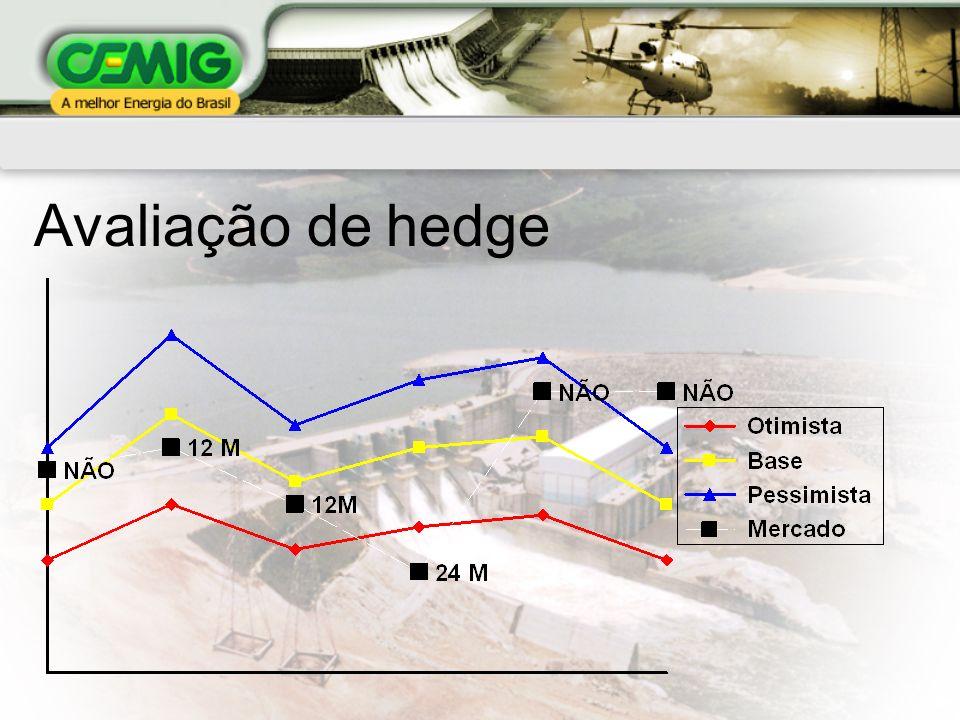 Avaliação de hedge
