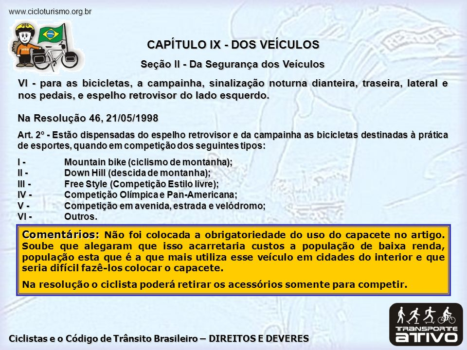 CAPÍTULO IX - DOS VEÍCULOS