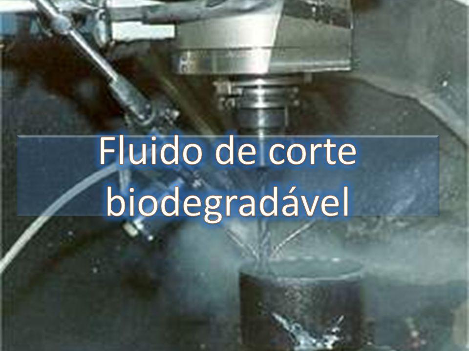 Fluido de corte biodegradável