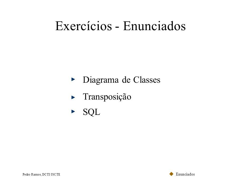 Exercícios - Enunciados