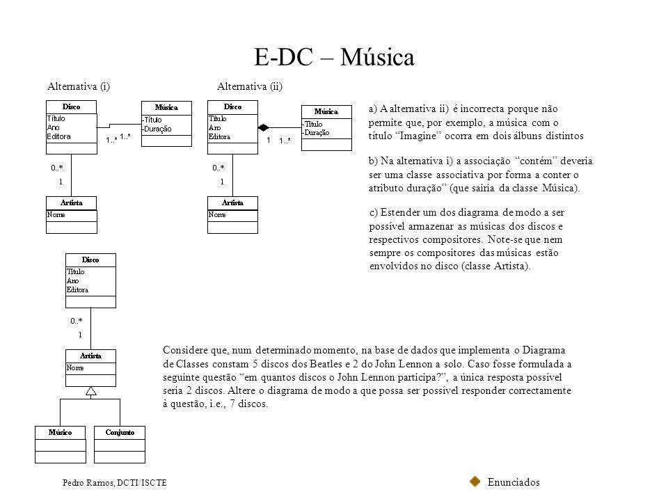 E-DC – Música Alternativa (i) Alternativa (ii)