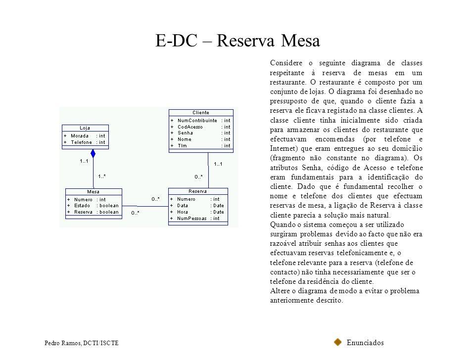 E-DC – Reserva Mesa