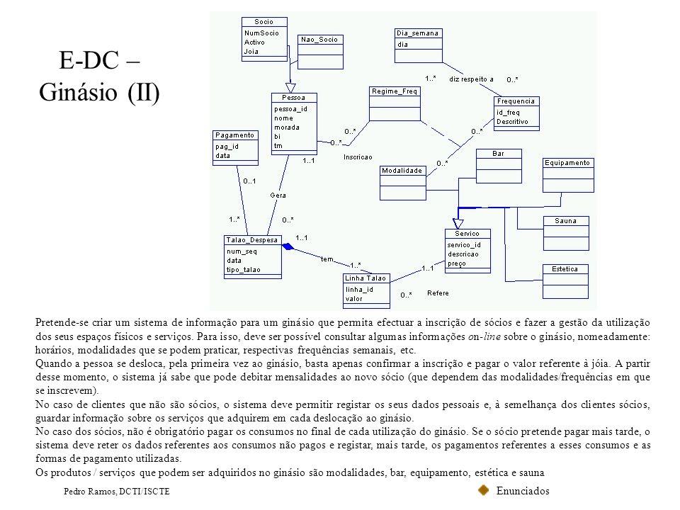 E-DC – Ginásio (II)