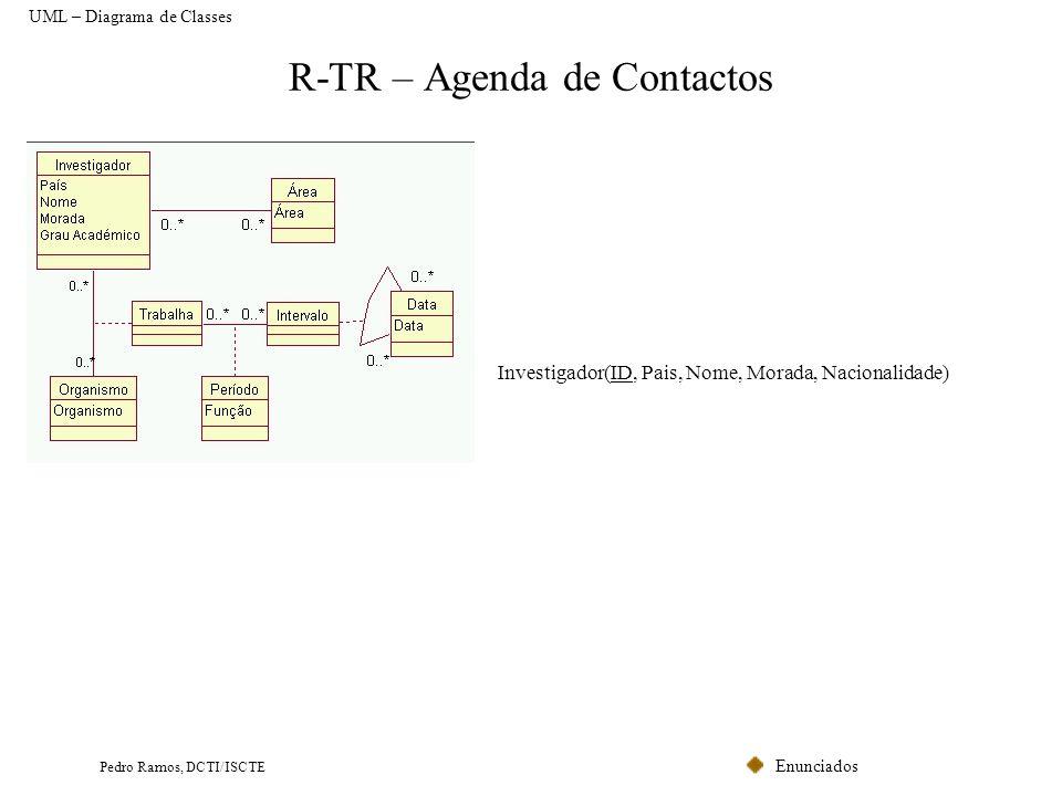R-TR – Agenda de Contactos