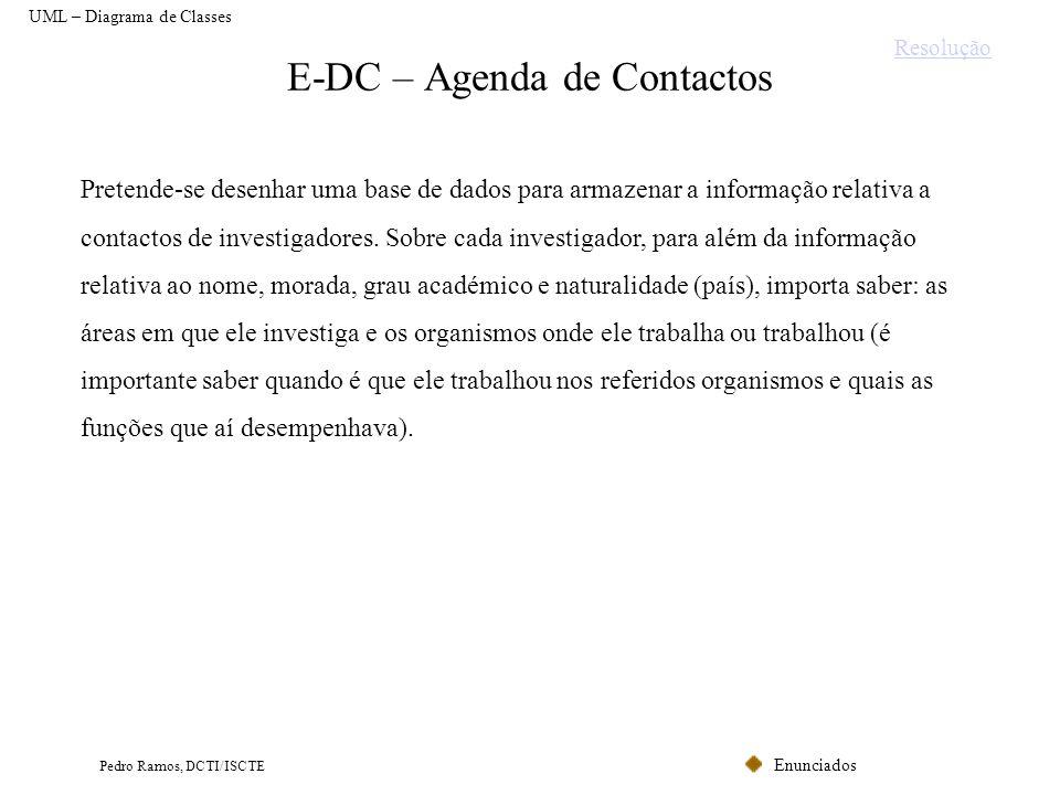 E-DC – Agenda de Contactos