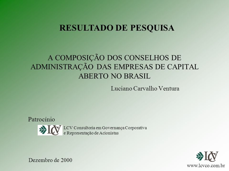 Luciano Carvalho Ventura