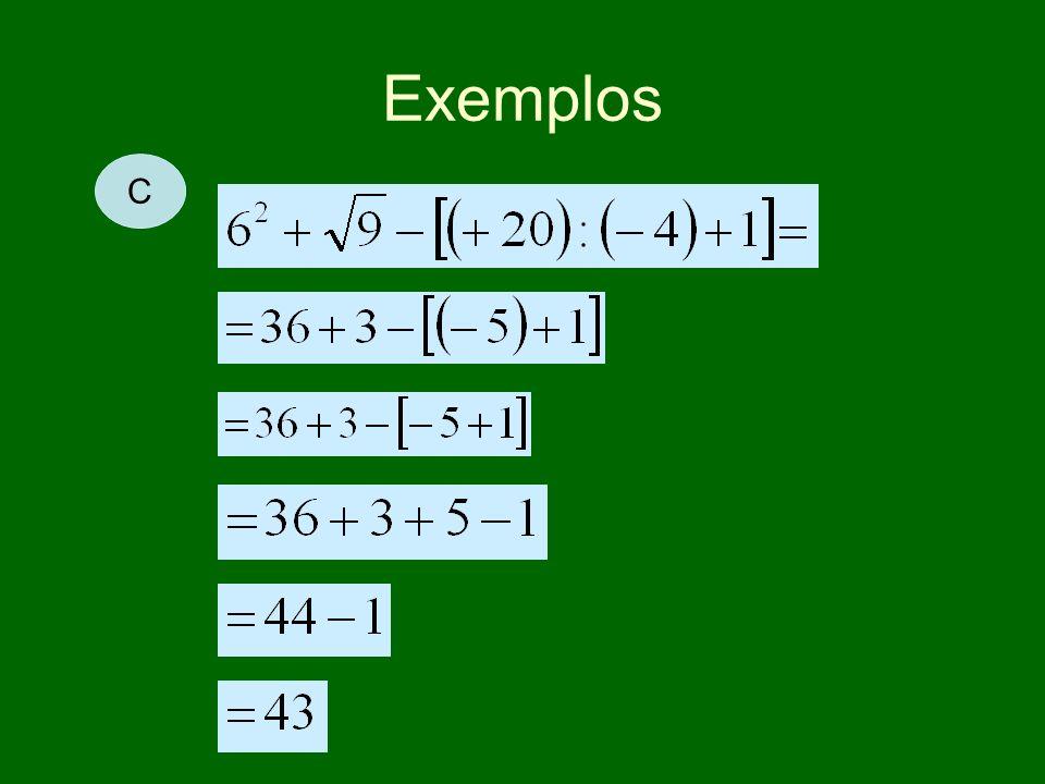 Exemplos C