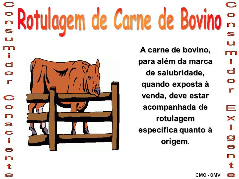 Rotulagem de Carne de Bovino